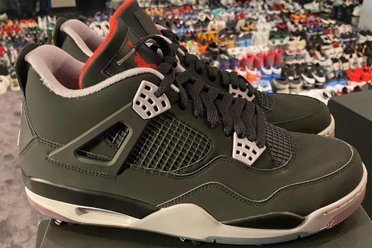Air Jordan 4 Golf 'Bred'