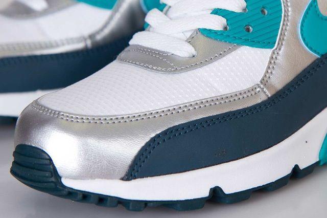 Nike Wmns Air Max 90 Turbo Green Night Shade 1