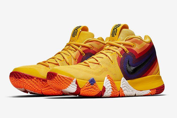 Nike Kyrie 4 Yellow Multicolor 943807 700 Release Date 4 Sneaker Freaker