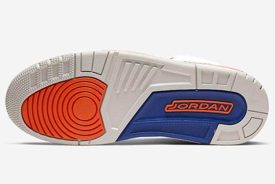 Air Jordan 3 Knicks 136064 148 2019 Release Date Price 1 Sole