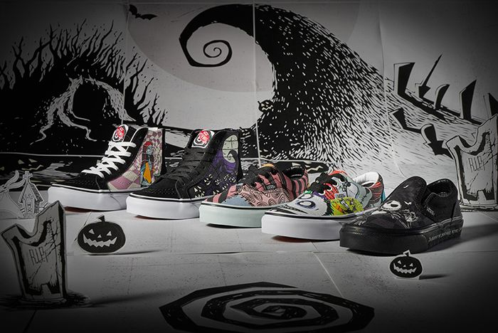 Vans Nightmare Before Christmas Group Shot Lifestyle