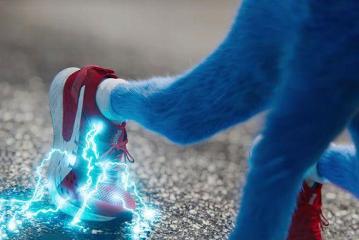 Sonic The Hedgehog Puma Speed 500 In Film