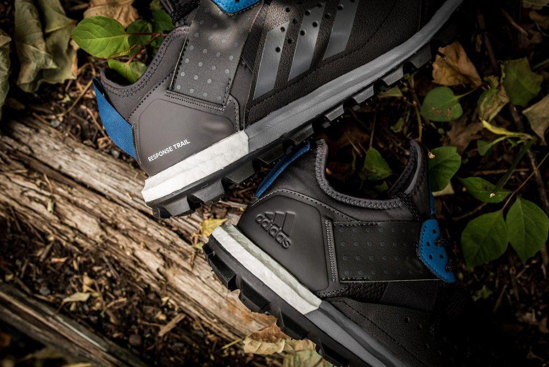 Adidas Response Trail Boost Black Navy 2