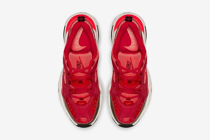 Nike M2K Tekno Red Suede 3