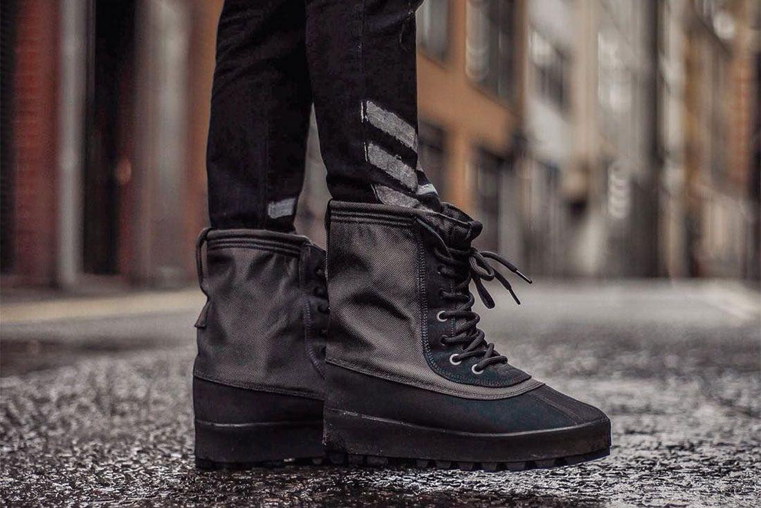 Adidas Yeezy 950 Pirate Black Boot Side Shot 1 J Rago