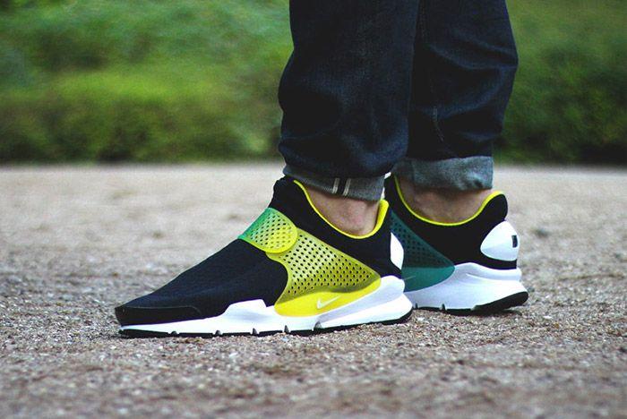 Nike Id Sock Dart Gradient Neon Fade Strap 3