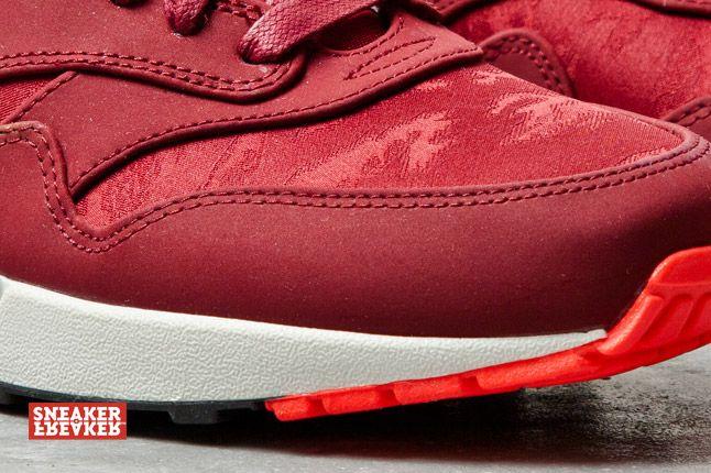 Nike Air Max 1 Prm Team Red Atomic Red Jaquard 2 Det 1