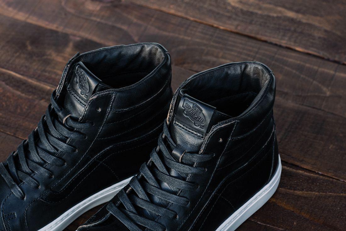 Horween Leather X Vans Vault Collection20