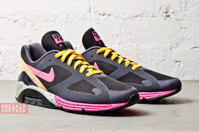 Nike Air Max Terra 180 Black Pink Foil Gridiron 2
