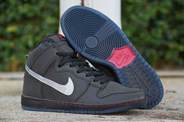 Nike SB Dunk High Premium (Reflective
