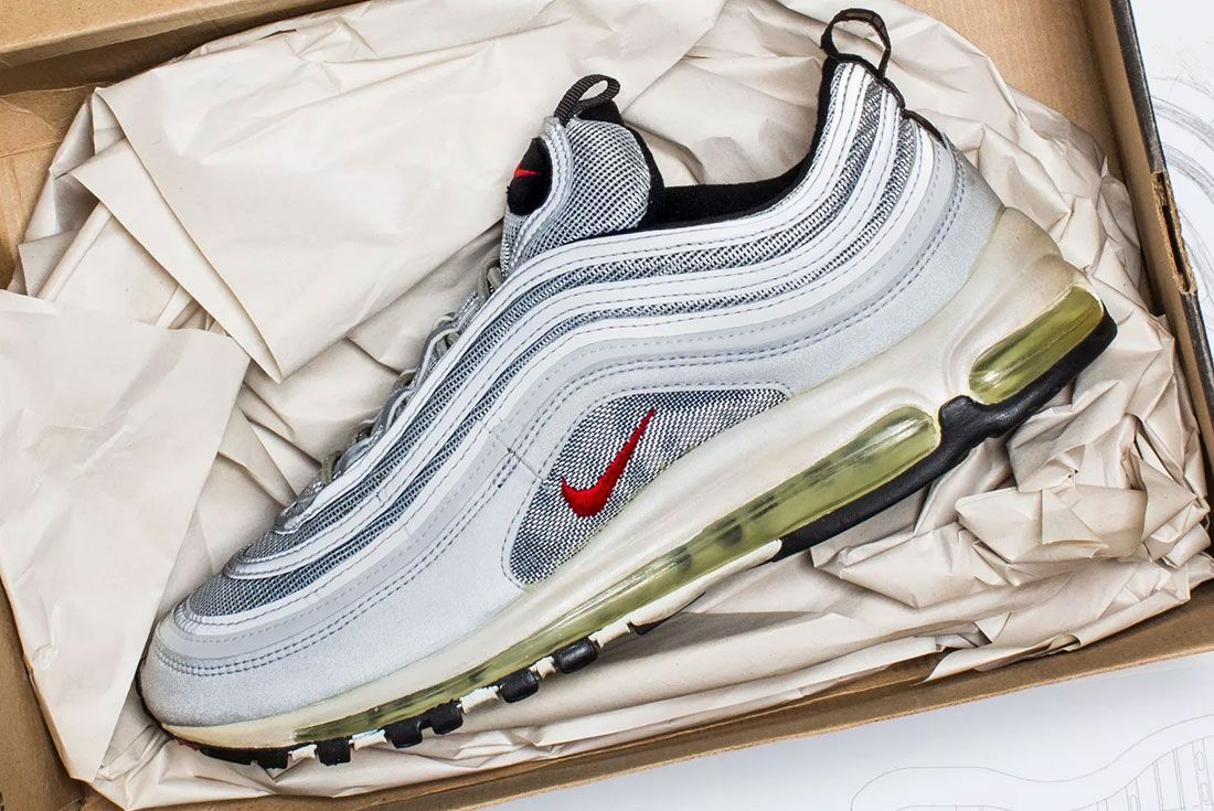 Nike Air Max 97 Silver Bullet Packaging Left