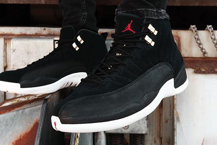 Air Jordan 12 Reverse Taxi On Foot