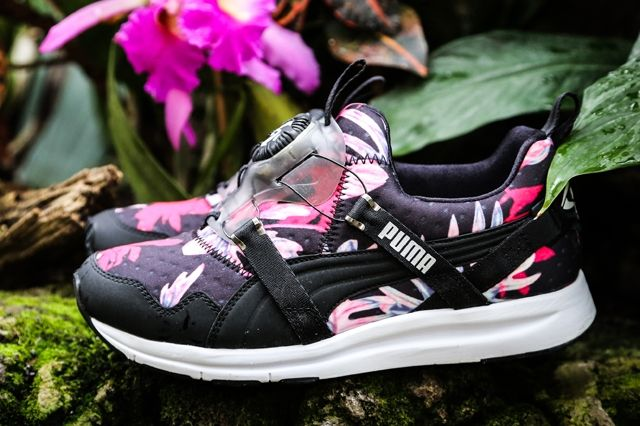 Puma Disc Tropicalia Black Pink 2