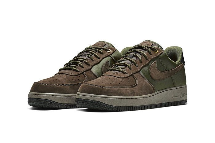 Nike Air Force 1 Premium Baroque Brown Medium Olive 001 12