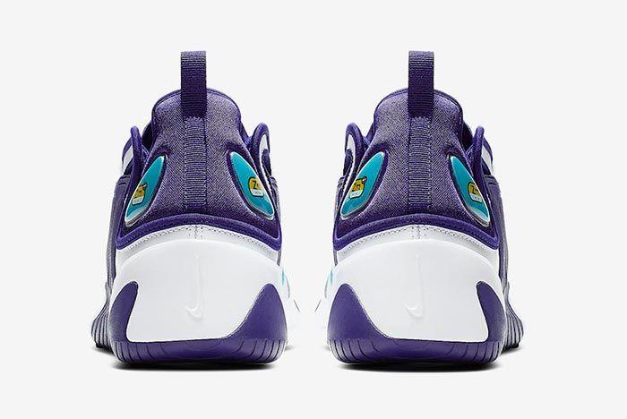 Nike Zoom 2K Regency Purple Ao0269 104 Heel Shot