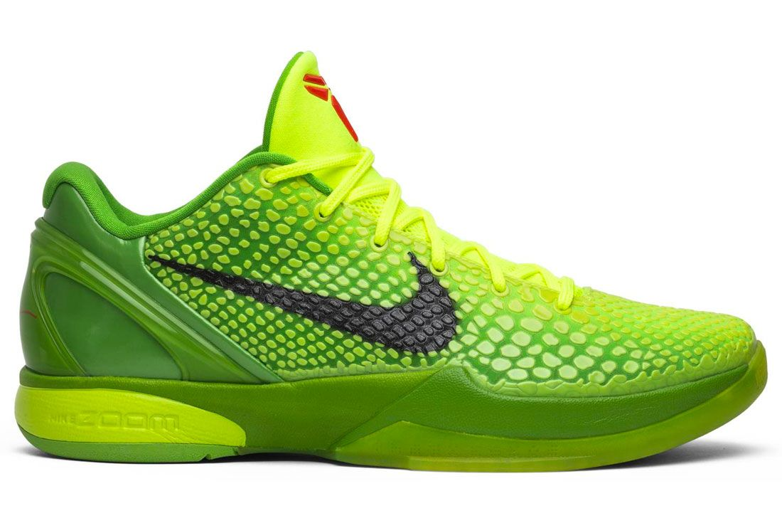 Nike Kobe 6 Grinch Right