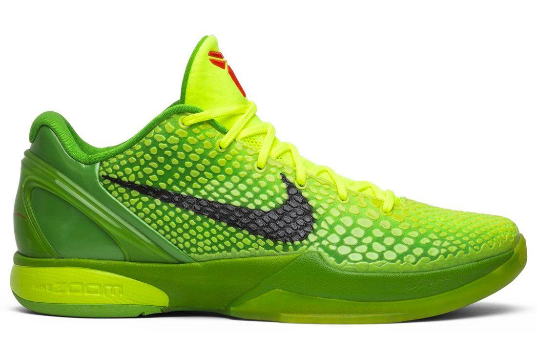 Nike Kobe 6 Grinch Right