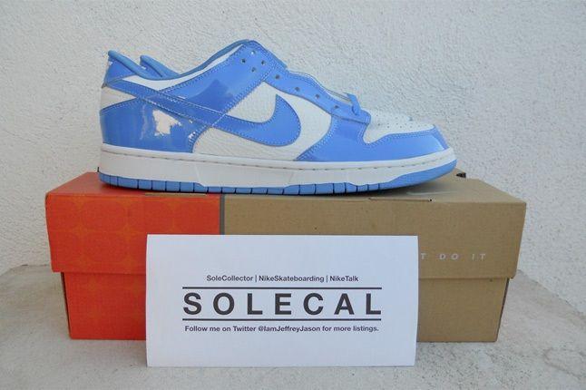 Nike Dunk Low Patent Blue White 1
