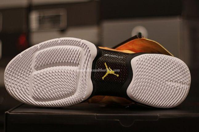 Jordan Xx8 Yellow Camo Outsole 1
