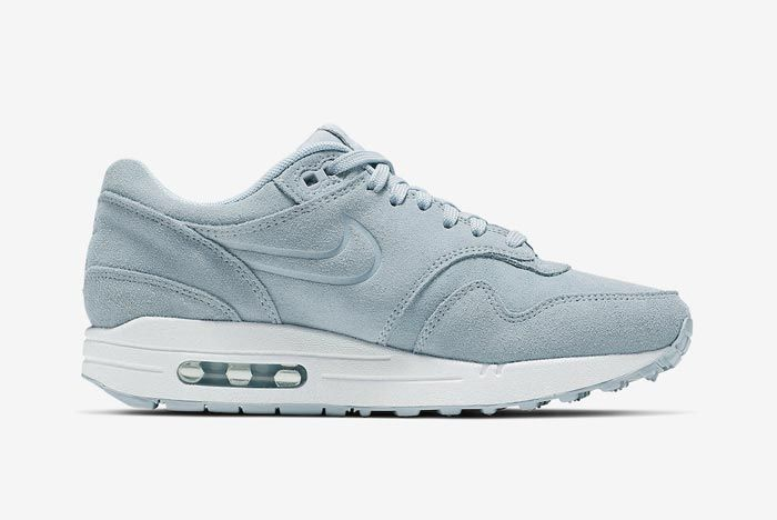 Nike Air Max 1 Turquoise Suede Medial