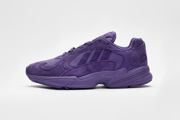 Sneakersnstuff Adidas Yung 1 Purple Grey 1