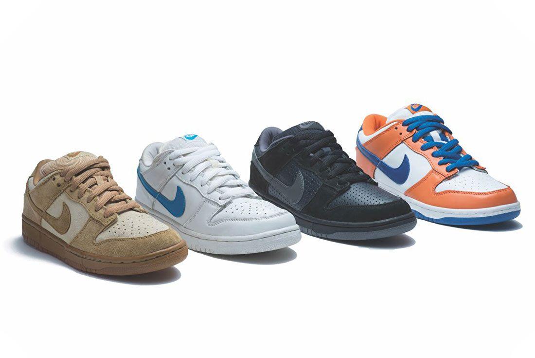 Nike Sb Og Pro Dunks Group Shot