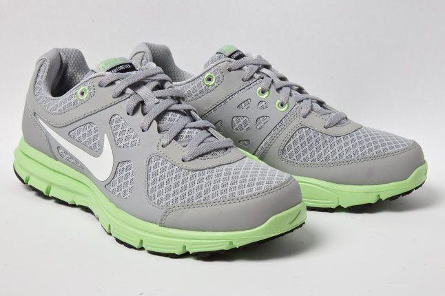 Nike Wmns Lunar Forever Grey Fair Grn 3 4 2