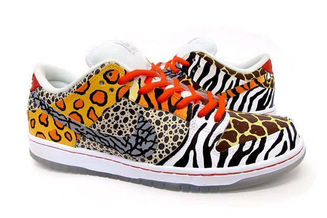 Sekure D Nike Sb Dunk Low Custom On Safari 3