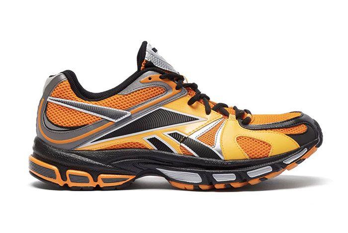 Vetements Reebok Spike Runner 200 Orange Right