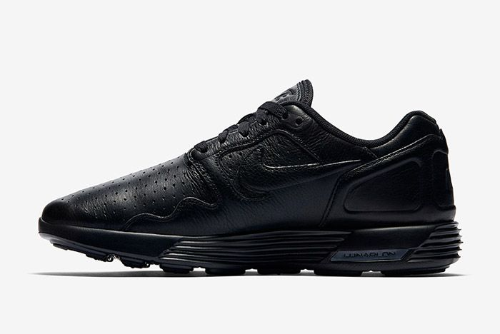 Nike Lunar Flow Triple Black Leather 5