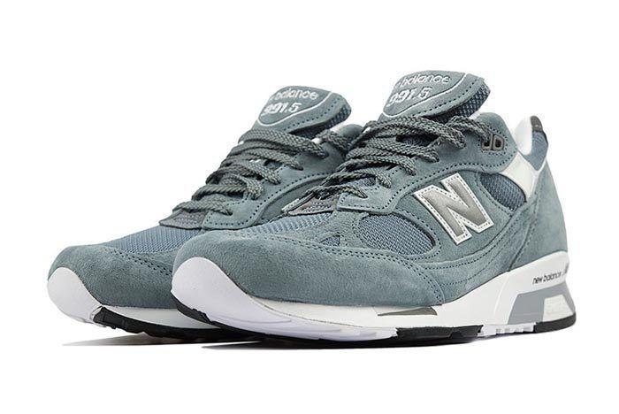 New Balance 991 5 Light Blue Grey 2