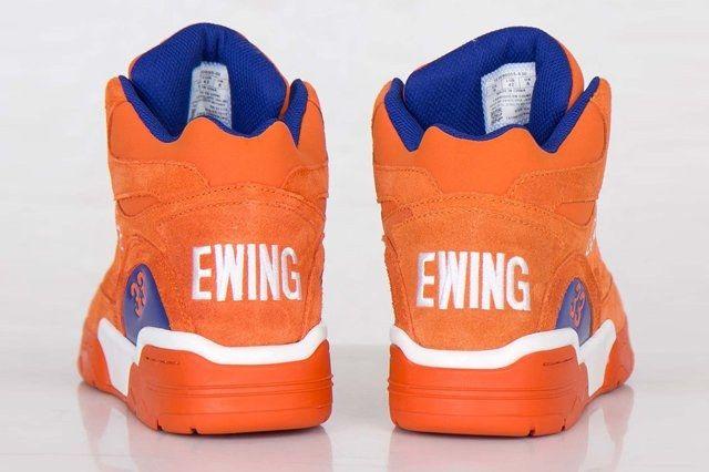 Ewing Athletics Ewing Guard Orange Suede 6
