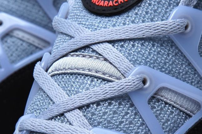 Huarache Light Grey Infrared Tongue And Laces 1