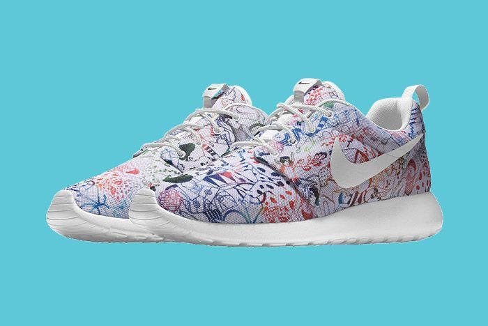 Nike Id Roshe Run Carla Bath 5