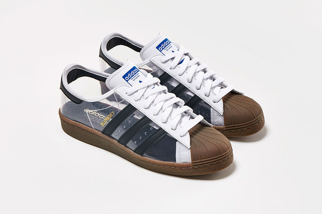 Blondey Mccoy Adidas Skateboarding Superstar 80S White Clear Gum Pair