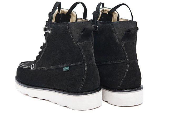 Feit Moc Hi Black Heel 11