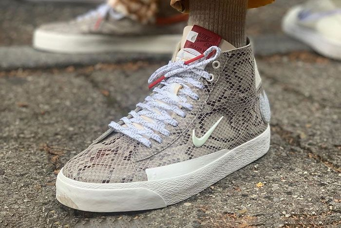 Soulland Nike Sb Blazer Mid Snakeskin Release Date