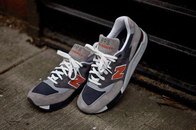 New Balance 998 Grey Orange Hero 1