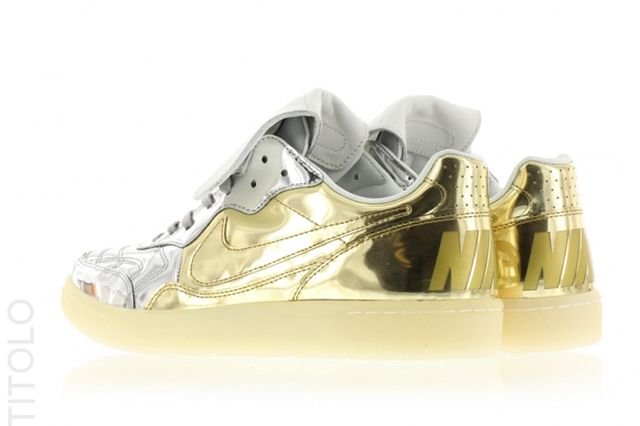 Nike Tiempo 94 Liquid Metal Gold Silver 2
