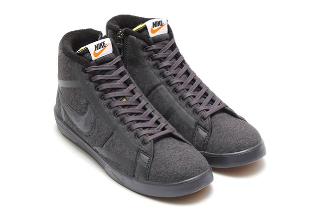 Nike Lunar Blazer Tech Fleece Black Anthracite 1
