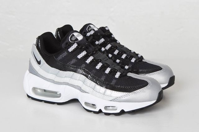 Nike Am95 Black Platinum Bump Sns 1