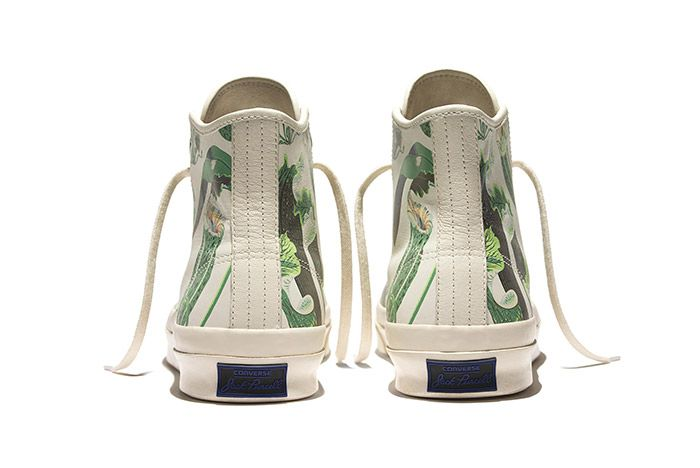 Converse Jack Purcell Signature High Carnivorous Print White 1