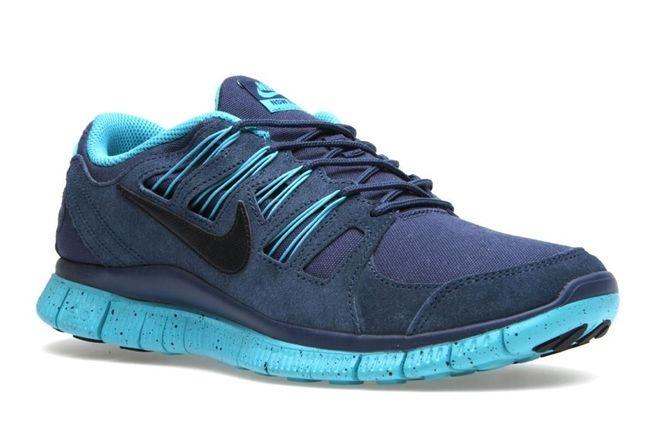 Nike Free 5 0 Ext Blue Angle 1
