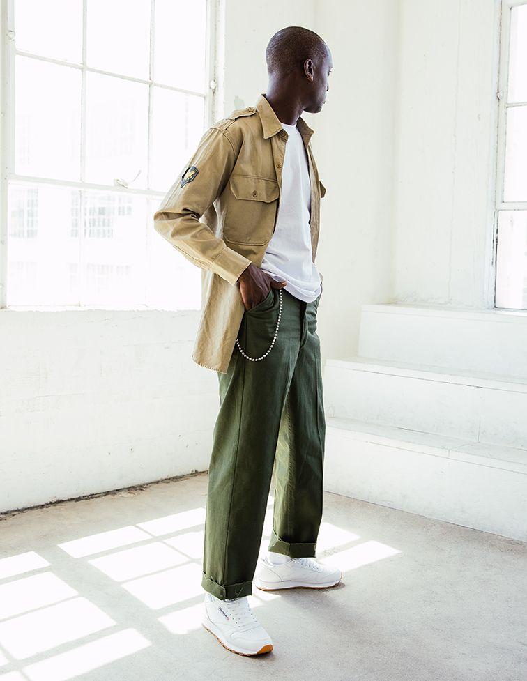 Buddy Wears Reebok Classic Leather 6