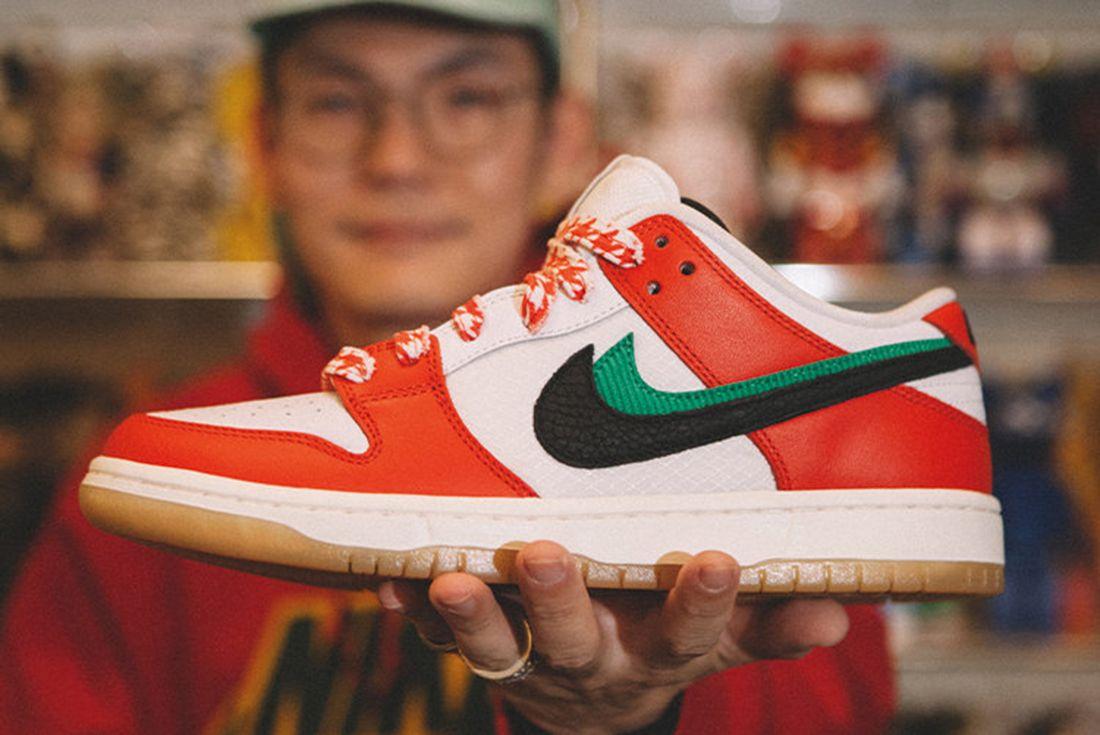 Frame Skate x Nike SB Dunk Low 'Habibi