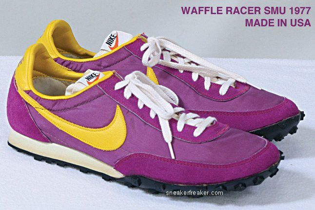 Vintage Collector Lindy Darrell Nike Runners 48