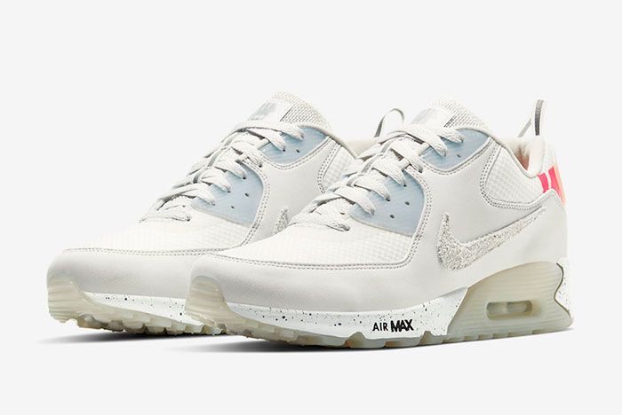 Undefeated Nike Air Max 90 Platinum Tint Cq2289 001 Release Date Official