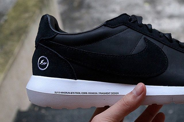 Fragment X Nike Roshe Ld1000 Black5