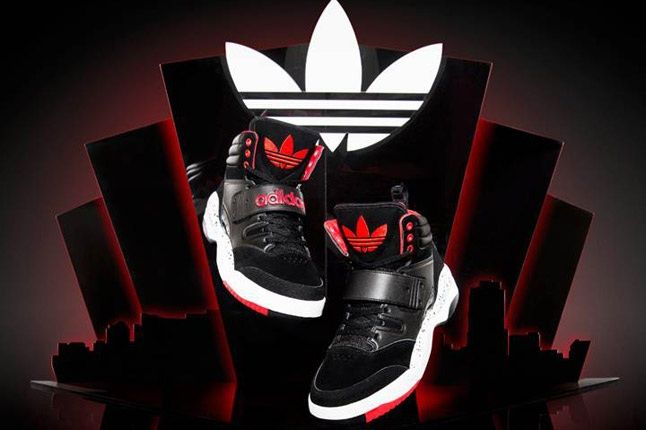 Adidas Originals Hackmore Black Red Pair 1