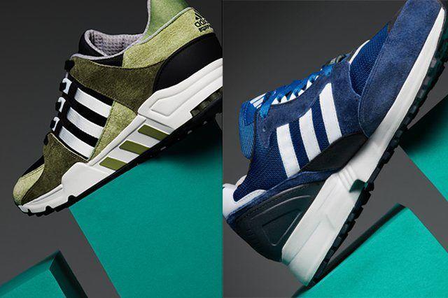 Adidas Originals Eqt Premium Suede Pack